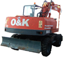 O&K - Orrenstein & Koppel Excavator