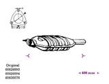 ΚΑΤΑΛΥΤΗΣ ALFA 155 1.6i 16V AR67601 7/96-10/97