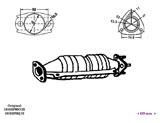 ΚΑΤΑΛΥΤΗΣ HONDA CIVIC 1.5i 1493 cc 66 Kw / 90 cv D15B2 1/93-12/9
