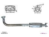 ΚΑΤΑΛΥΤΗΣ HONDA CIVIC 1.4i 16V 1396 cc 66 Kw / 90 cv D14Z6 2/01-