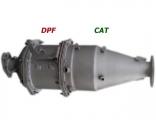 DPF & CAT for Refuse Collector ISUZU n15050